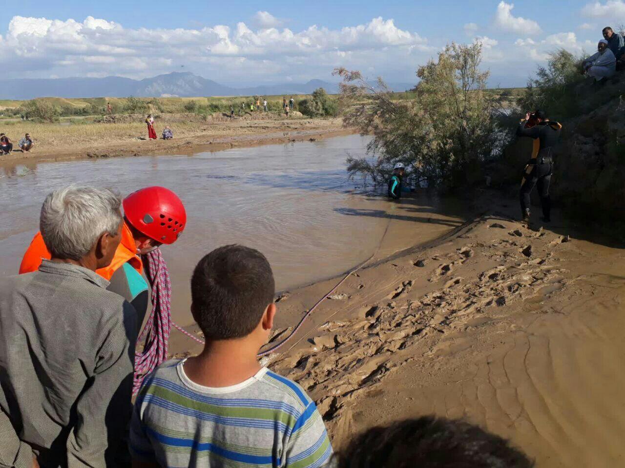 غرق شدن جوان گنبدی در رودخانه/عملیات جستجو ادامه دارد