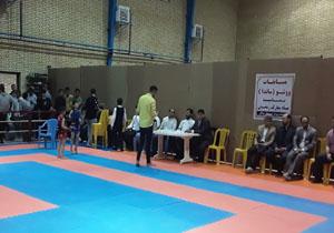 نایب قهرمانی مهاباد در مسابقات جام رمضان ووشو جنوب استان