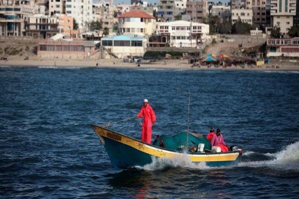 کاهش محدوده ماهیگیری فلسطینیان از سوی رژیم صهیونیستی