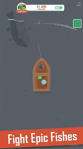دانلود Hooked Inc: Fisher Tycoon v1.9.0 – بازی محبوب ماهیگیری برای اندروید