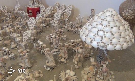 محصولات مرد صدفی در نهاوند زینت بخش منازل در کشورهای حاشیه خلیج فارس