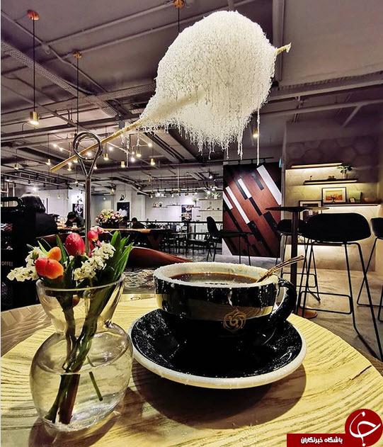سرو عجیب قهوه در چین+تصاویر