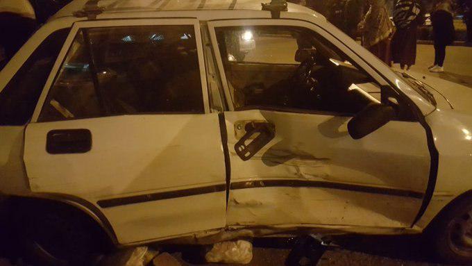 توضیحات پلیس درباره تصادف پورشه با پراید در اصفهان+تصاویر