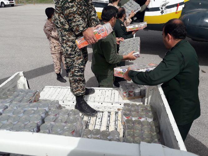 ارسال کمک های نیکوکاران شاهرودی به آق قلا