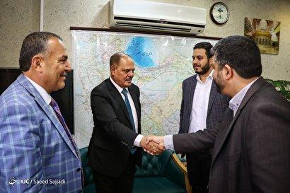 بازدید رئیس سندیکای روزنامهنگاران عراق از باشگاه خبرنگاران
