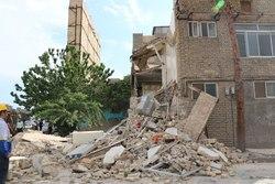 زیرش ساختمان بر اثر گودبرداری غیراصولی