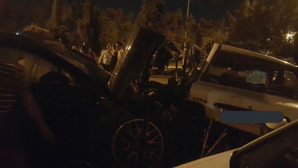 ماجرای عجیب تصادف دختر پورشه سوار اصفهانی / آیا یک آقازاده پشت رول بود؟ + تصاویر