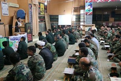 محفل انس با قرآن نیروهای مسلح در دامغان