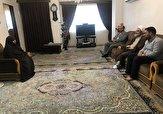 باشگاه خبرنگاران -دیدار نماینده ولی فقیه درگیلان با خانواده شهید عطری