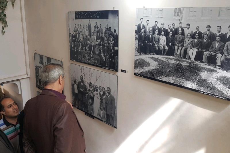 نمایشگاه عکس های تاریخی در شاهرود
