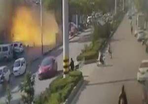 لحظه انفجار وحشتناک در یک هتل + فیلم