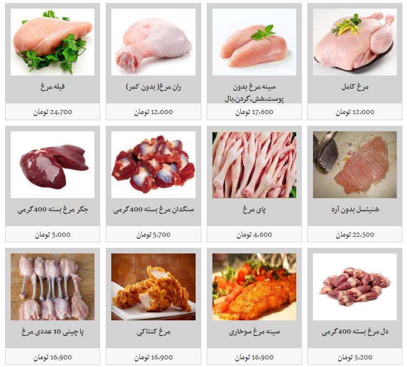 قیمت مرغ و انواع آلایش خوراکی آن