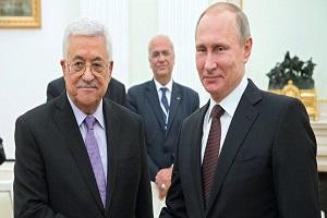 پیام ولادیمیر پوتین به محمود عباس