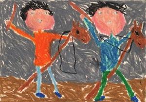 نقاشان کوچک دیپلم افتخار مسابقه  بین المللی بلغارستان کسب کردند
