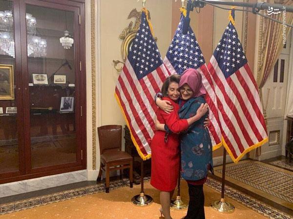 تصویری متفاوت از نامزد خاشقچی در کنار یک مقام آمریکایی