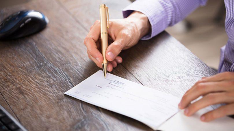 جزئیات نحوه وصول چک از موجودی سایر حسابها