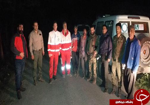 مفقودان جنگل ویسر و دلسم کجور پیدا شد / جستجوی نجاتگران برای یافتن مفقودان پایان یافت