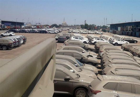 امکان ترخیص ۳ هزار و ۳۰۰ خودرو دپو شده در صورت تامین ارز