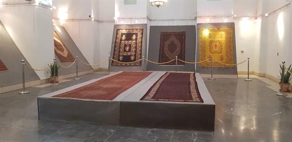 نمایش قالیهای کردستان در کاخ گلستان