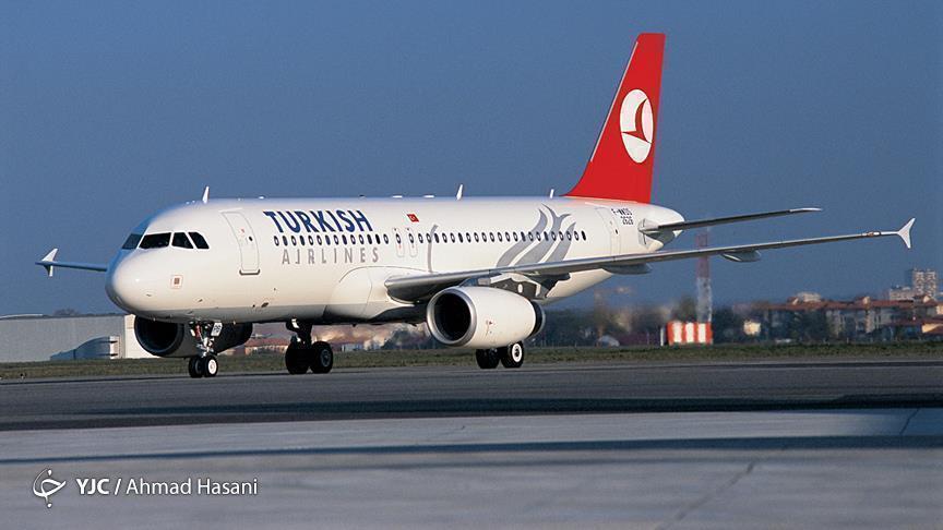 فرود اضطراری هواپیمای ترکیش در فرودگاه مهرآباد به علت فوت مسافر