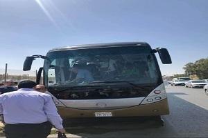 انفجار اتوبوس گردشگران خارجی در جیزه مصر
