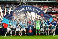 قهرمانی منچسترسیتی در جام حذفی انگلیس
