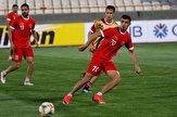 آخرین تمرین تیم فوتبال پرسپولیس پیش از دیدار با السد قطر+ تصاویر