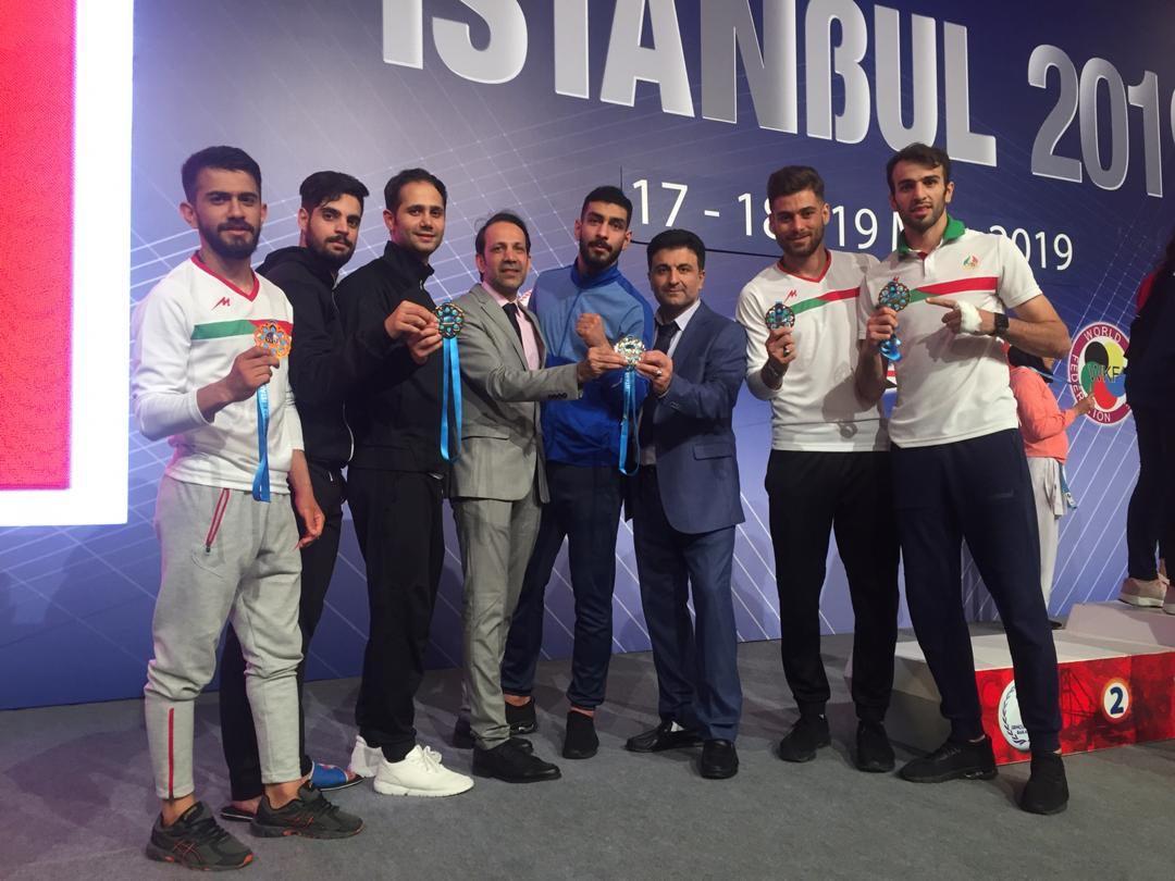 قهرمانی تیم ایران در دومین مرحله لیگ سری آ