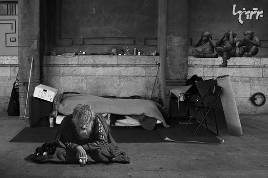 ماجرای جالب و عجیب بی خانمان هایی که الهام بخش زندگی دیگران بودند + تصاویر