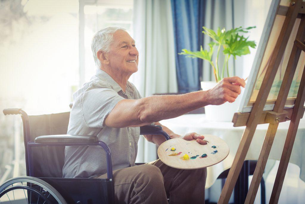 تصاویری از دکوراسیون مناسب برای اتاق سالمندان