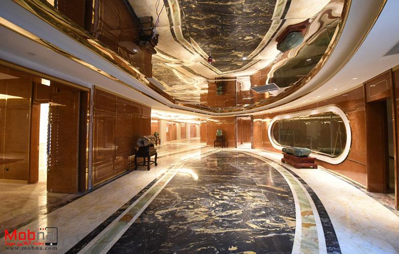 تصاویری از یک هتل در نانجینگ کشور چین +تصاویر