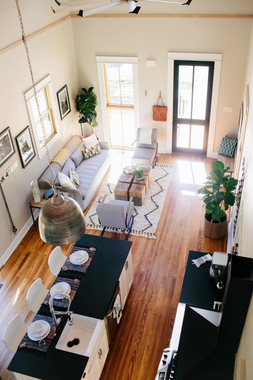 ایدههایی بزرگ برای طراحی فضای کوچک منزل