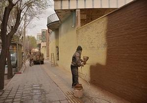 دیوارهای نازیبای سطح شهر یزد رنگ آمیزی و پاکسازی شد