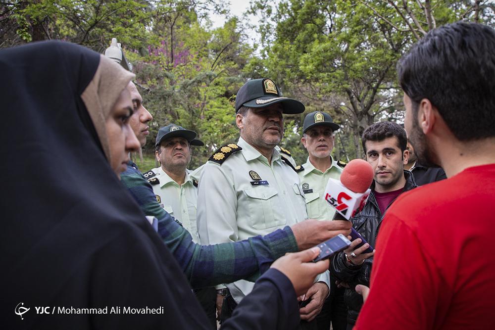 اجرای اولین روز طرح امنیت و اتضباط اجتماعی پلیس پایتخت/ گلایه یکی از شهروندان از پلیس/ پلیس با بی حجابی برخورد میکند