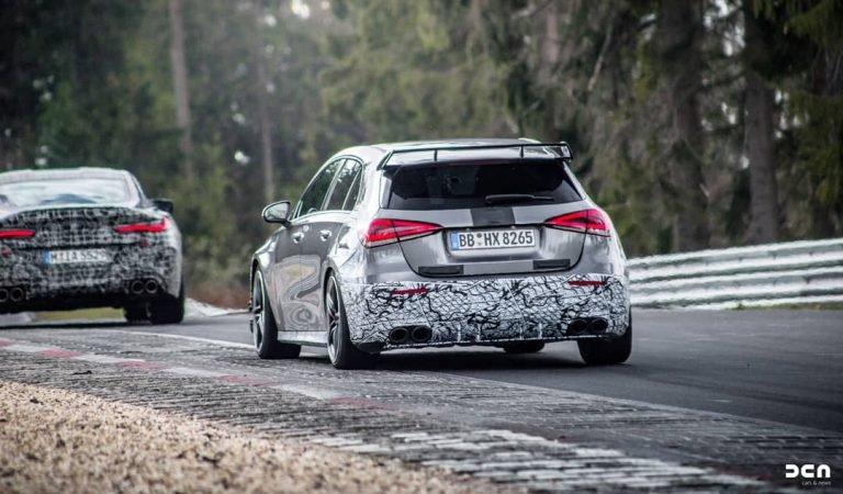 مرسدس بنز A45 مدل 2020 در پیست نوربرگرینگ آلمان دیده شد+تصویر