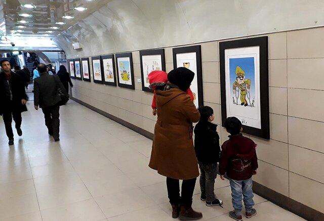 گالری تابستان خانه هنرمندان میزبان عکسهای مترویی میشود