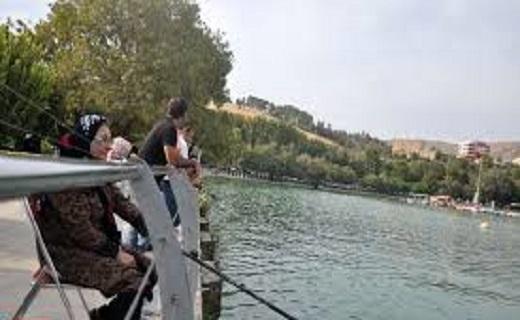 حال خوب دریاچه کیو، هدیه باران به مردم شهر خرم آباد+ تصاویر