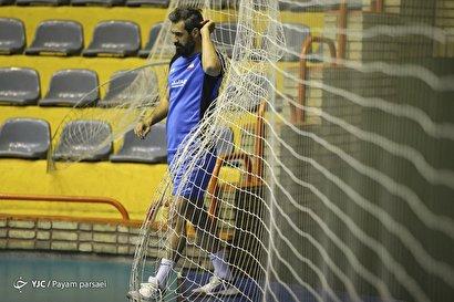تمرین تیم ملی والیبال با حضور لژیونرها