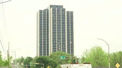 تخریب عمدی یک برج ۲۱ طبقه در آمریکا + فیلم