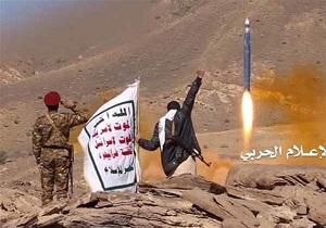 حمله موشکی مبارزان یمنی با فرودگاه نظامی عربستان