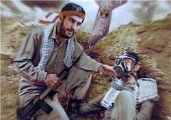 شیرمردی از سپاه پاسداران که تن دشمن را میلرزاند + عکس