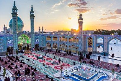 محفل اُنس با قرآن در امامزاده هلالبنعلی(ع)