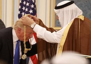 ترامپ درخواست پادشاه سعودی برای حمله مستقیم به یمن را رد کرد