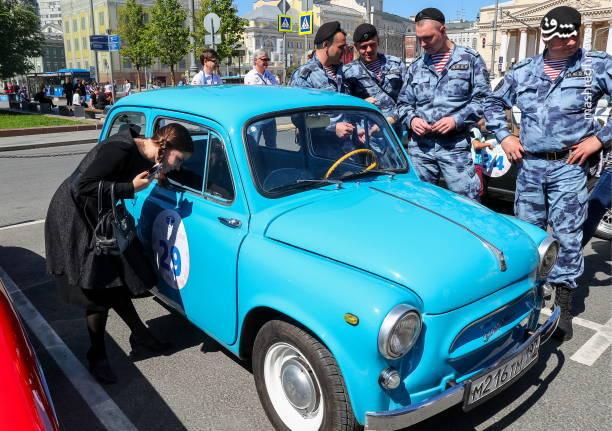 دورهمی جذاب خودروهای کلاسیک پرطرفدار در روسیه + تصاویر