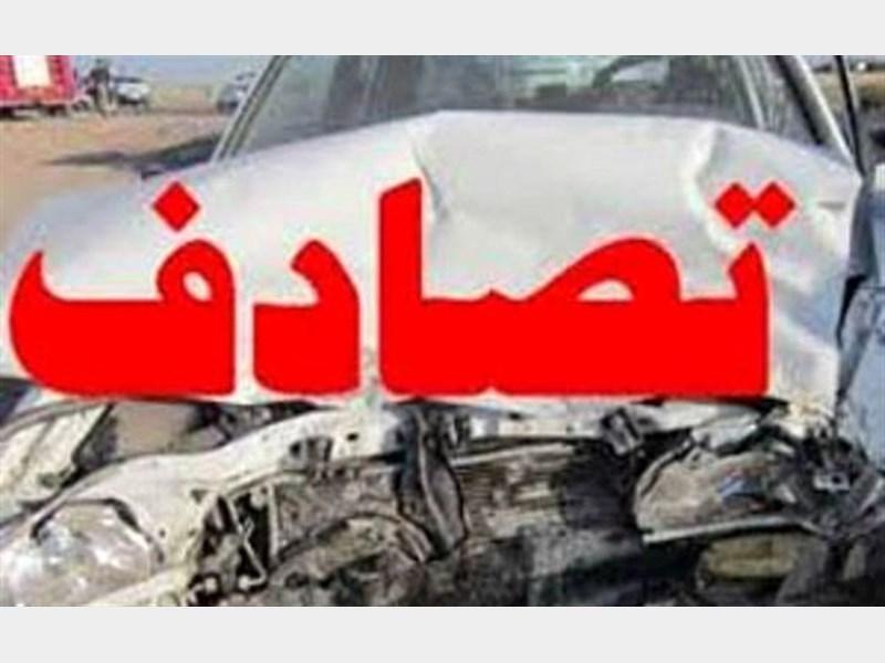 تصادف در اتوبان زنجان - قزوین مرگ راننده تیبا را رقم زد