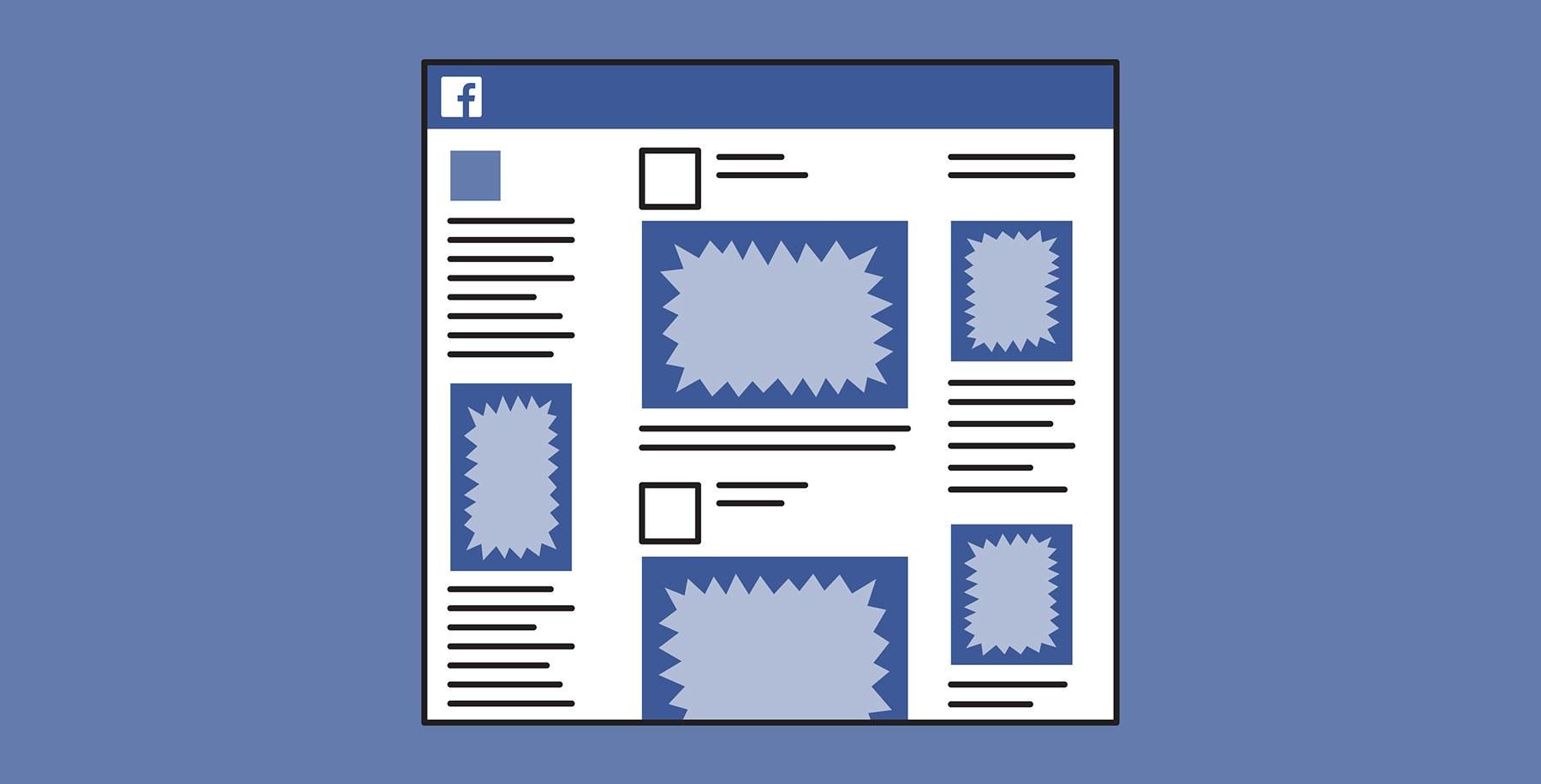فیسبوک بار دیگر صفحه فید خود را بروزرسانی کرد