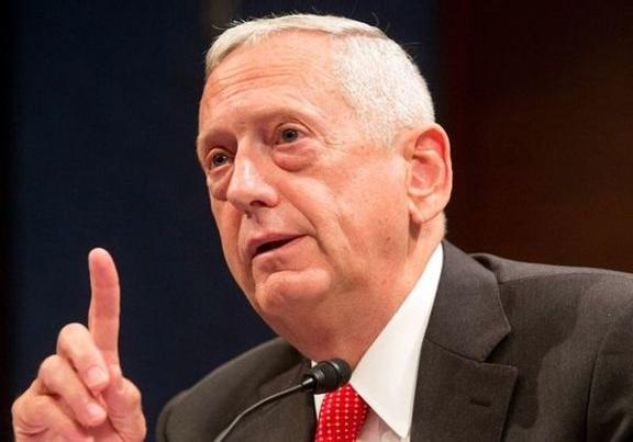 متیس: بروز هرگونه درگیری نظامی با ایران بعید به نظر میرسد