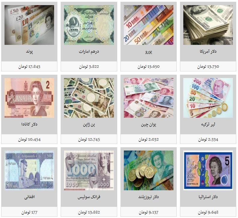 ریزش نرخ تمامی ارزها در بازار/ دلار آمریکا به ۱۳ هزار و ۷۵۰ تومان رسید