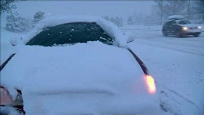 بارش سنگین برف بهاری در کلرادو + فیلم
