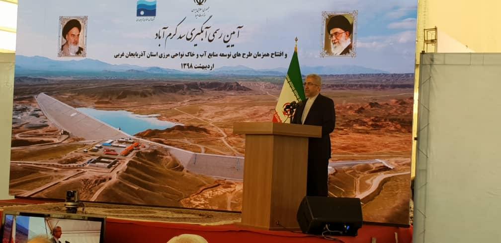بهره برداری از ۳ سد در آذربایجان غربی/سد بویلا پوش خوی افتتاح شد